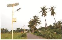 Solar Street Light System - Cfl