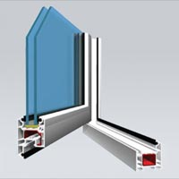 Upvc Casement Window System