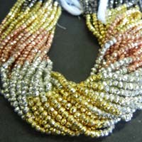 Multi Pyrite Gemstone Beads