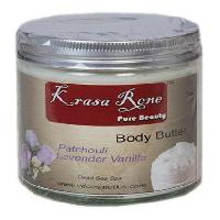 Dead Sea Body Butter Cream (patchouli Lavender Vanilla)