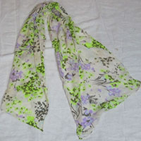 New Printed Silk Stoles