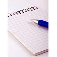 Ruled Paper For Register