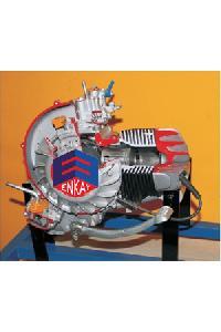 2 Stroke 1 Cylinder Petrol Engine - Manual Driven