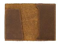 Leather Finish Passport Cover & Gas Book Cover