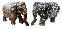 Rose Wood Elephants