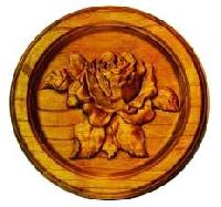 Rose Wood Wall Hangings