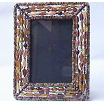 Beaded Picture Frames