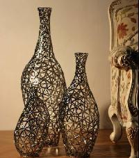 iron flower vases