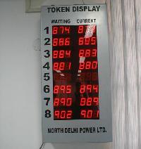 Led Token Display System