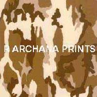 Camouflage Print Cotton Fabrics