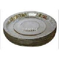 disposable silver buffet plate raw material