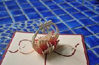 Flower Basket - (handmade 3d Pop Up Greeting Card)
