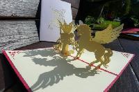 Horse - Handmade 3d Pop Up Greeting Card