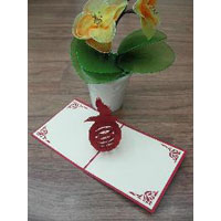 Pigeon - Handmade 3d Pop Up Greeting Card