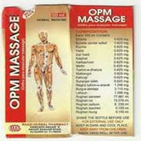 Opm Body Massage Oil
