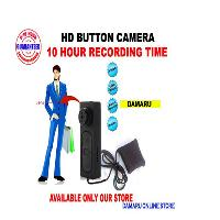 World First 10 Hour Battery Backup Small Hd Button Camera..