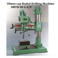 All Gear With Fine Feed Radial Drill