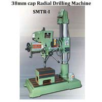 Fine Feed Radial 38mm Cap Radial Drilling Machine