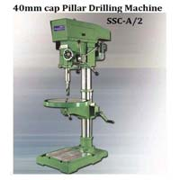 Siddhapura 40mm Cap Auto Feed Pillar Drilling Machine