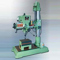 Fine Feed Radial Drilling Machine