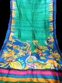 Hand Printed Sarees