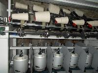 Single Deck Cotton TFO Machine