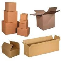 Industrial Plain Corrugated Boxes