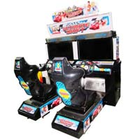 Attraction Electronic Simulator Video Game Machine