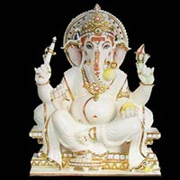 Marble Lord Ganesha Statues