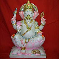 Marble Lord Ganesha Statues Manufacturer Offered By Akshar