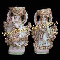 Beautiful Radha Krishna Statue