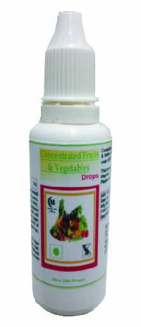 Hawaiian Concentrated Fruits and Vegetables Drops