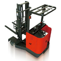 4 Direction Electric Reach Forklift Truck