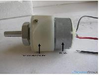 Dc Geared Motor