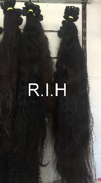 Virgin Indian Natural Black Hair