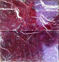 Ruby Red Marble Tiles - S. A. Enterprise
