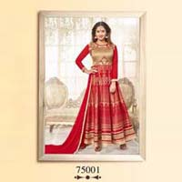 Mastani 2- Designer Bhagalpuri print stylish Anarkali Salwar Suit