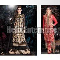 Latest Embroidery Long Salwar Kameez