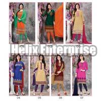 Panadadi-23 Stylish Designner Cotton With Embroidery Dress