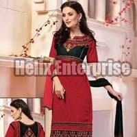 Sahebaa Nx-Designer Cotton Jacquard Dress Material