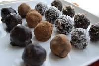 handmade chocolate truffle