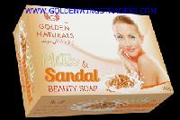 Milk & Sandal Beauty Soap
