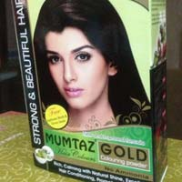 Mumtaz Gold Brown Henna Hair Color