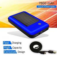 Unique Design Solar Battery Charger 7800mAh Power Bank