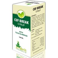 Cuf Break Syrup - PRAKRIT HERBALS