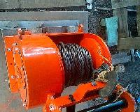 Tractor Mounted Towing Winch