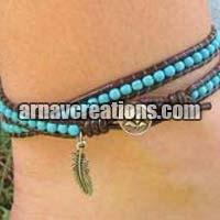 Leather Anklets