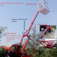 Pole Installation Mini Loader
