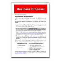 Business Proposal Designing And Printing