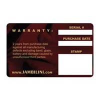 Warranty Card Designing and Printing